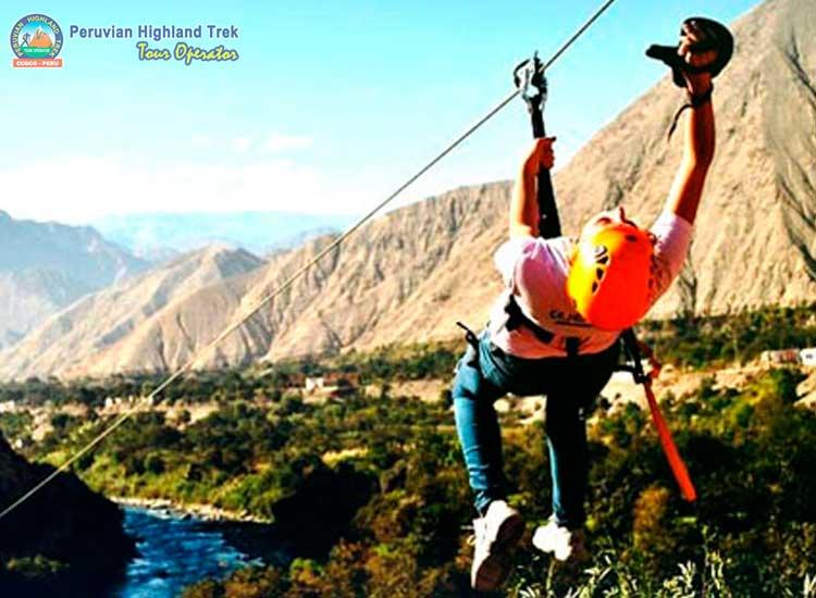 Zip Lining Cusco